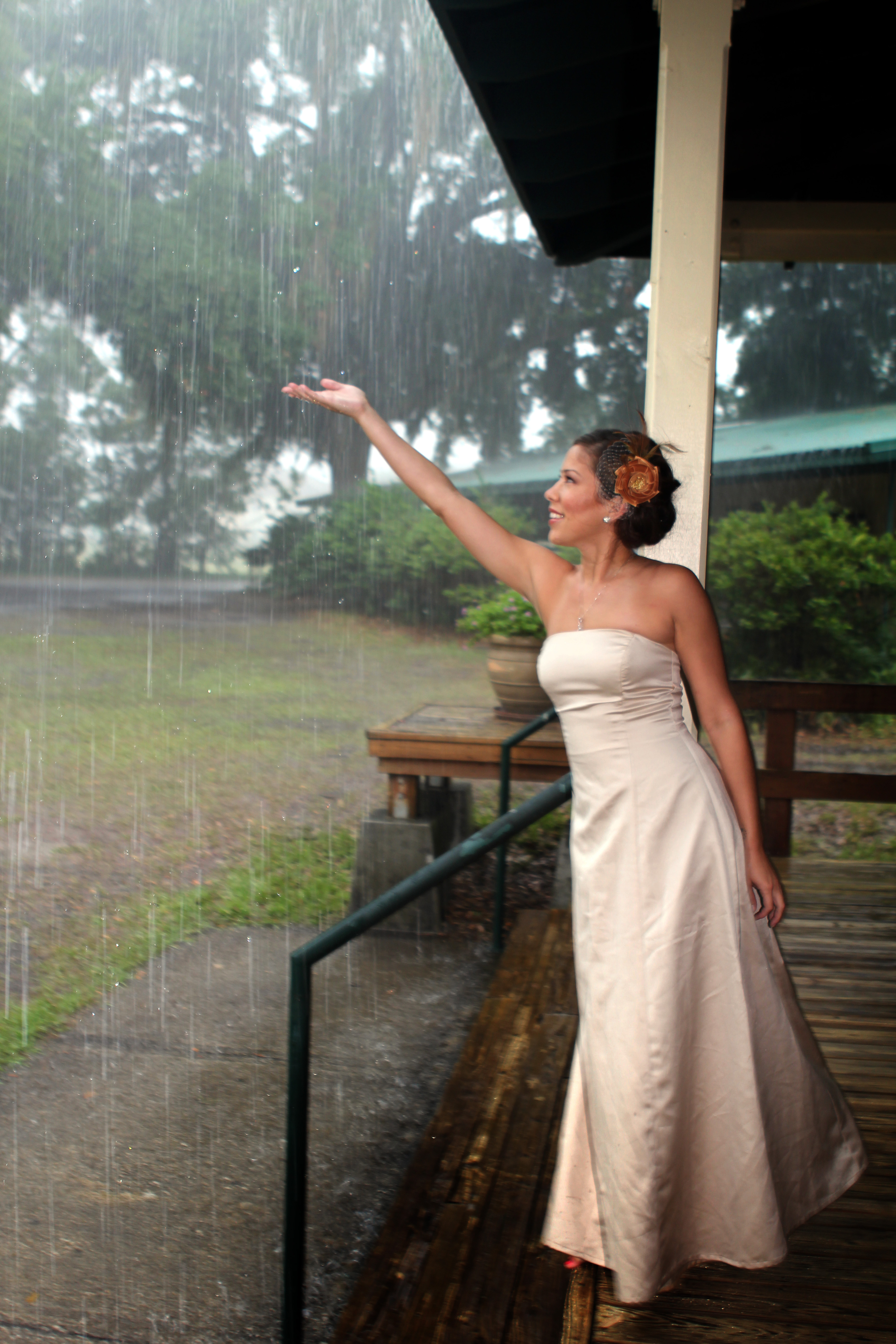 Its raining on my wedding day i currently live in the subtropical climate zone of florida how cool does that sound we enjoy year round green grass and palm trees but we also battle junglespirit Images