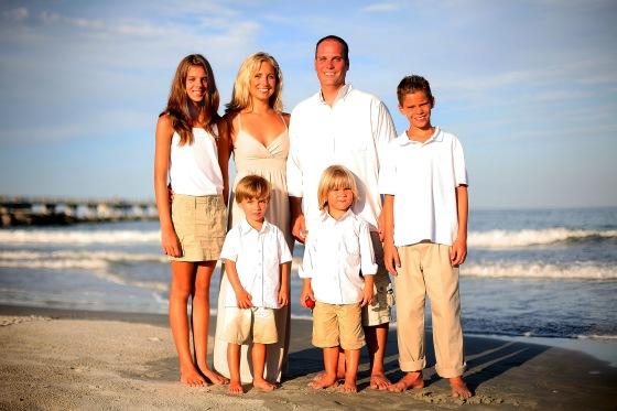 Cocoa Beach Family Portrait Photographer