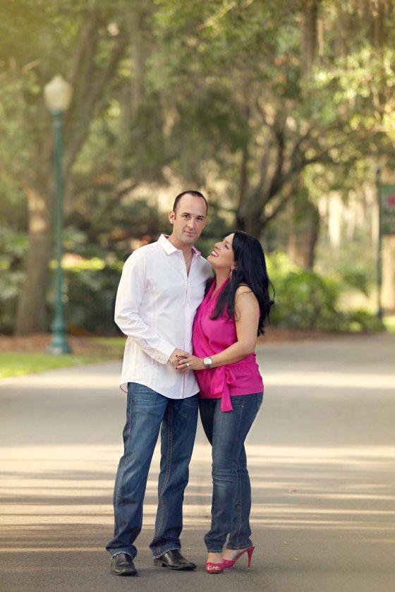 Leu Gardens Engagement SEssion Orlando Photographer